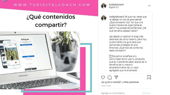 ¿Cómo dejar espacios en Instagram?