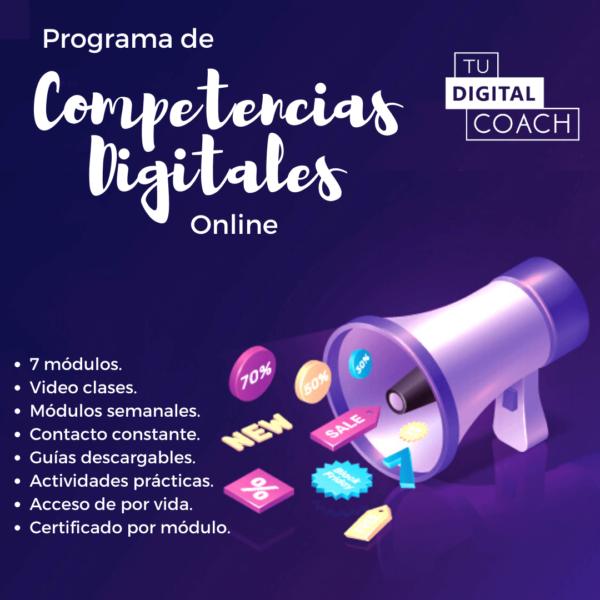 Programa de Competencias Digitales